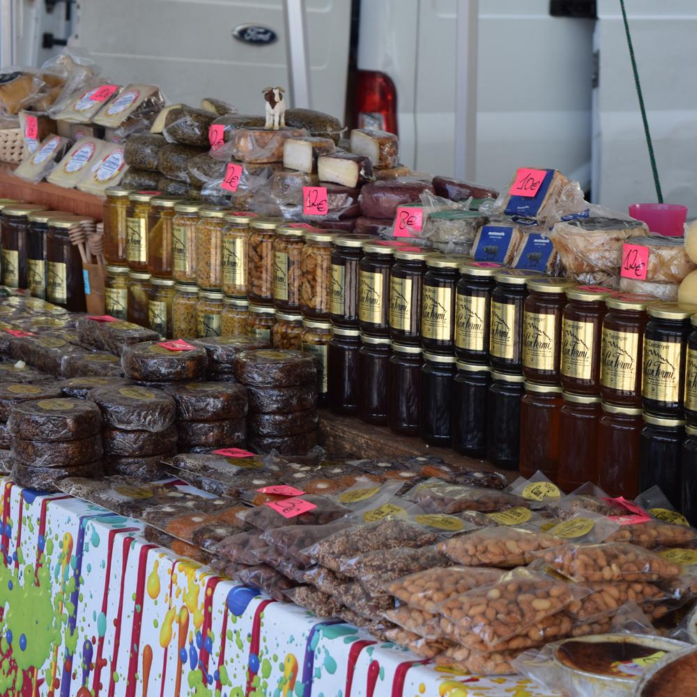 Productos típicos Navidad 2016 en Montserrat